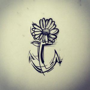 #diseño #tattoowork #tattooworld #margarita #anclatattoo