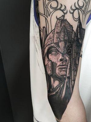 WIP on this Lord of the Rings sleeve email for bookings; antbatetattoos@gmail.com Sponsored by @tattooeverythingsupplies #uktta #crownofthorns #silverbackink #silverbackinkinstablack #fkirons #sullenartcollective #chester #tattoo #tattoos #tattooed #tattooartist #tattoostudio #wheretheytatt #antbatetattoos #a_drop_of_black #blackwork #blackworkerssubmission #blackworkers #blacktattooart #chaoticblackworkers #darkartists #btattooing #blxckink #theblackmasters #onlythedarkest #blacktattoomag #tattooeverythingelite #tattooeverythingsupplies #elite25 #thedarkestwork