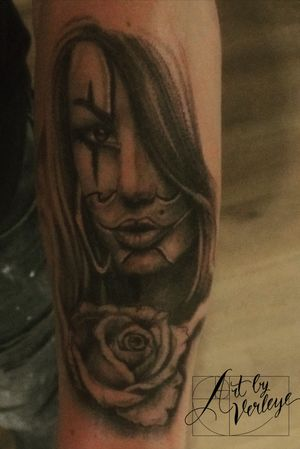 #ArtbyVerleye #chicano #portrait #getinked #antwerp #tilburg #netherlands #belgium #tattooart