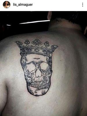 #skulltattoo #CalaveraTattoo #crowntattoos #corona