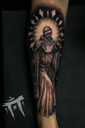 Santa muerte #santamuerte #tattoos #adsertattoos #booking #miami