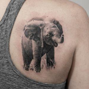#elephanttattoo #elephant #realistic