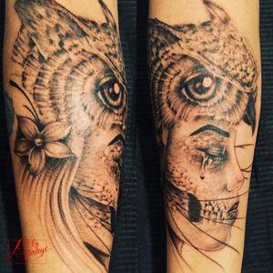 #owl #meurte #portrait #inkedup #antwerpen #tilburg #nederland #belgie