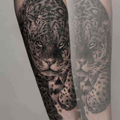 #leopardtattoo #leopard #realistic #warsaw