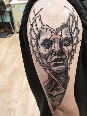 Day 1 done. Thanks @jakefrom_snakefarm done @bad_apple_tattoo email for bookings; antbatetattoos@gmail.com Sponsored by @tattooeverythingsupplies #uktta #crownofthorns #silverbackink #silverbackinkinstablack #fkirons #sullenartcollective #chester #tattoo #tattoos #tattooed #tattooartist #tattoostudio #wheretheytatt #antbatetattoos #a_drop_of_black #blackwork #blackworkerssubmission #blackworkers #blacktattooart #chaoticblackworkers #darkartists #btattooing #blxckink #theblackmasters #onlythedarkest #blacktattoomag #tattooeverythingelite #tattooeverythingsupplies #elite25 #thedarkestwork