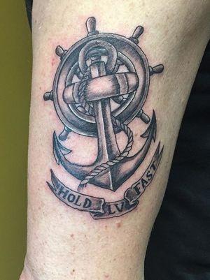 #anchor #anchortattoo #blackandgrey #nautical