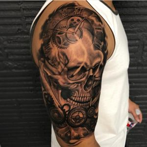 Tattoo by Red Eye Gallery Tattoo
