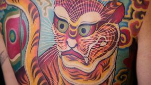 Vietnam Traditional tattoo by Cent Larbro (La Thanh Tattoo Hanoi, Vietnam)