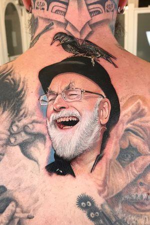 The master storyteller Terry Pratchett