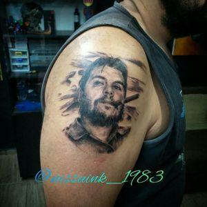 #cheguevara #nissuinktattoo#tattooportrait