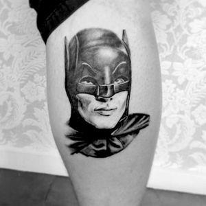 #adamwest #batman #blackandgray #portrait