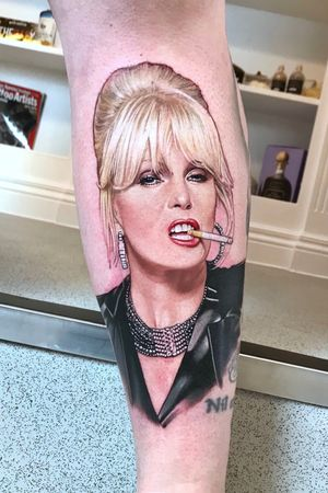 Joanna Lumley as Patsy in Absolutely Fabulous 🥂🍾