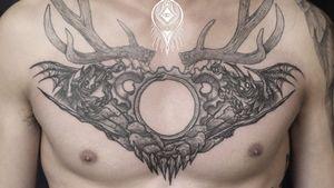 #blacktattoo   #linework  #tattoos #illustration#bnw#blackwork#china #Beijing #blackart #onlythedarkest#btattooing#北京