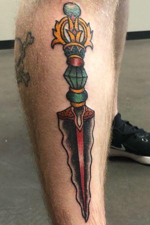 Tibetan dagger