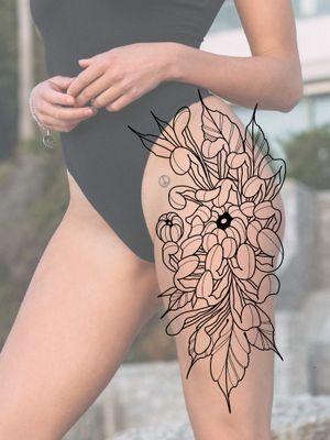 Diseño disponible para tatuar / This is up for grabs. #tatted #tattooartist #tattooer #chrisanthemum #quito #uio #ecuador #tttism #tattooart #tattoos #ink #inked #floral #flower #flowers #flowertattoo #neotraditional #neotraditionaltattoo #irezumi