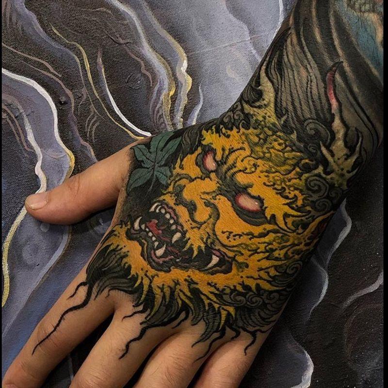Tattoo from Junior Goussain