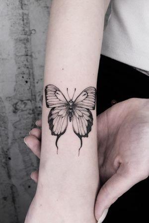 #butterfly #black #finelines #hamburg #lugano #swissartist
