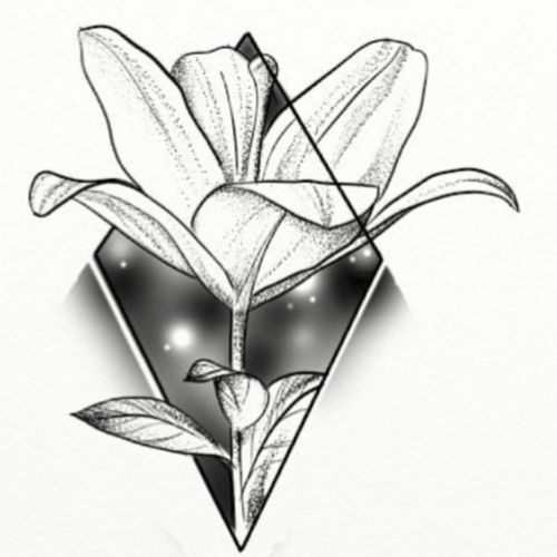 #lilie #Blüten #blume #Schatten #dotwork #skitze #artist #art #kunst #tattoo #abstrackte #rose #artist #germantattooer #natur #germantattooer#natur #follow #followforfollower