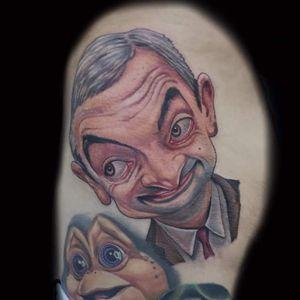 Mr. Bean #mrbean #flagshiptattoogallery #ralphroyals #floridatattooartist