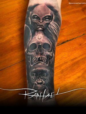 Artista Paulo Raphael tattoo