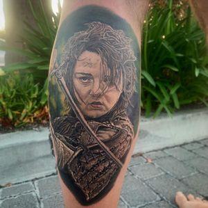 Arya Stark portrait from Sunday night!