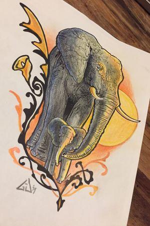 Design by Gert-Jan Aaltink, who wants it?? #cultart #elephant #netherlands #dutch #gjaaltink #nijverdal #cultartshop