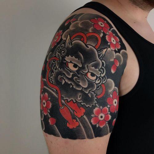 Awesome tattoo by Horiokami #Horiokami #TattoodoAmbassador #Tattoodo #awesometattoos #besttattoos #tattooartist #tattooidea #cooltattoos #tattoosformen #tattoosforwomen