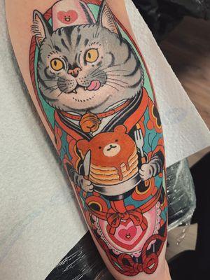 Awesome tattoo by Wendy Pham #WendyPham #TattoodoAmbassador #Tattoodo #awesometattoos #besttattoos #tattooartist #tattooidea #cooltattoos #tattoosformen #tattoosforwomen