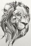 #skitze #stencil #artist#tattoodo #follow #followforfollower #blackandgrey #instatattoo #germantattooer #natur#spitze #inkspector #tattoodo #farbe #rot #löwe #feminin #mone1971# #mix #vorlage #follow #followforfollower