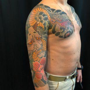 Bay Area Tattoo Convention 2019 - Tattoo by Takashi Matsuba #TakashiMatsuba #BayAreaTattooConvention #BayArea #tattooconvention #SanFrancisco #tattooartists