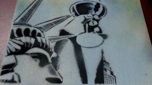 Stencil: Liberty Martini