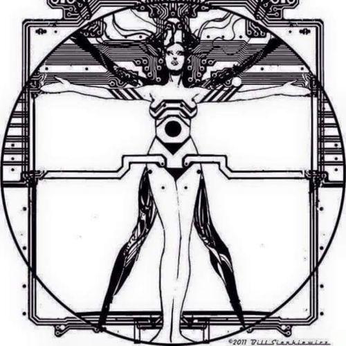 Cyberpunk vetruvian