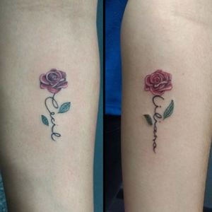 Mommy and daughter rose names