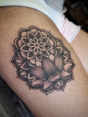 Dm or email for availability . . #australiantattoo #melbournetattoo #tattoomelbourne #australiantattooistsguild #tattoo #tattoos #melbournetattooartist #docstattooz #funinthesun #customtattoos #melbournetattooculture #flkeys #floridakeys #floridatattooartist #keywest #ornamentaltattoo #lotus #mandala #mandalas
