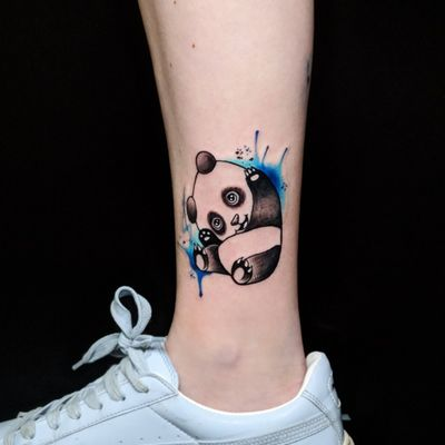 Colorful little panda! Inked by the very talented @eitanart for more info and to schedule appointment please PM us or call 09-7421677 Or just book yourself at https://yoman.co.il/KoiTattoo #color #colorwork #colortattoo #panda #bear #line #black #blacktattoo #art #artistsoninstagram #instagood #instagram #inspiration #koitattooil #tattooed #tattoo #tattooideas #tattooart #a #original #design