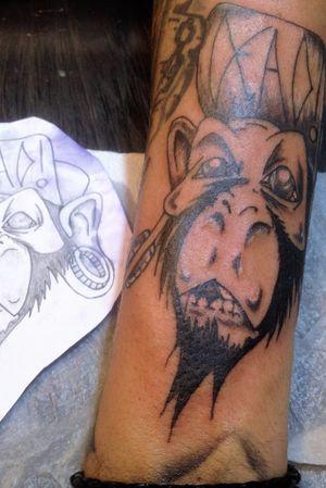 #Monkey macaco com boné