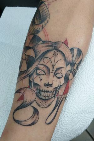 Hioks Design Demon #tattoo #demontattoo