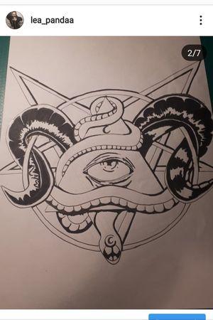 #whiteandgrey #satanic #illuminati #snake #eye #pentagrams