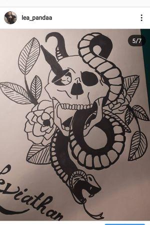 #whiteandgrey #snake  #flora  #flowertattoo
