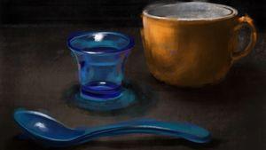 Still life painting. #oilpainting #digitalpainting #digitalartist #fineartist #oilpainter