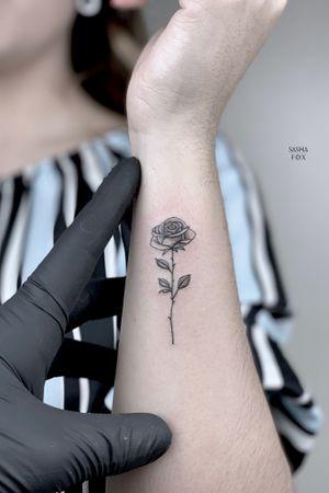 Tattoo from Sasha Fox