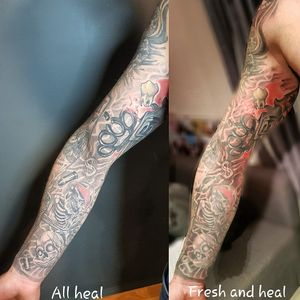 Tattoo by Temporal Tiago Tattoos