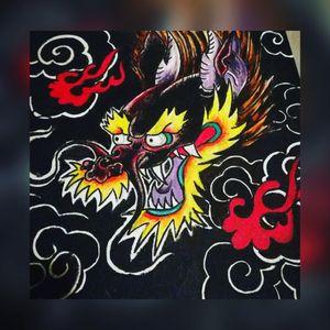 Dragonhead Painting