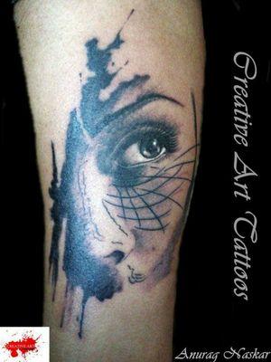 Geometrical portrait
