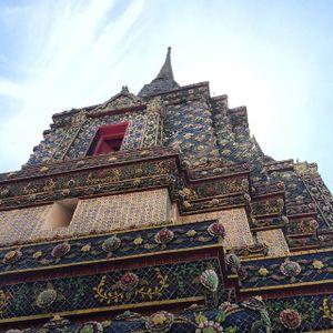 Wat Pho temple in Bangkok, Thailand - photo by Justine Morrow #Thailand #Bangkok