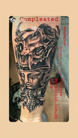 Tattoo by mountain ink shimla