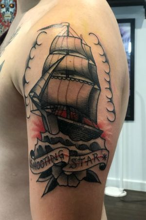 FREEHAND clipper ship