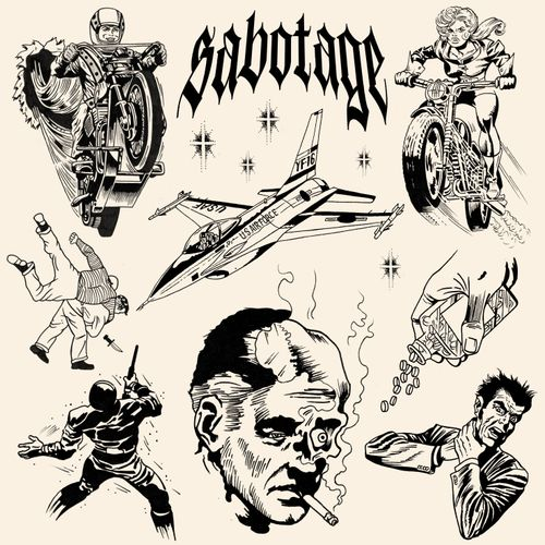 SABOTAGE/ Available flashs, feel free to contact me ! #tattoo #comics #comicstattoo #marvel #superheroes #blackwork #blackworkers #lettering #typography #typographie #dark #darktattoo #tattooparis #paristattoo #flash #flashtattoo #flashworkers #paris #lyon #toronto #nyc #nantes #london