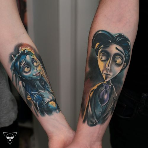 Both are healed - Corpse Bride characters for really nice couple !