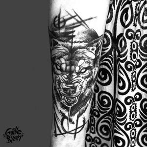 Tattooing in Barcelona at @whynot.tattoo @guilleryan.arttattoo guilleryanarttattoo@gmail.com #animaltattoos #blackworkartist #wolf #wolftattoo #sketchtattoo #tattoobarcelona #tattoo #tattooist #inkaddict #amazingink #inkjunkeyz #tattoosnob #radtattoos